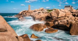 Tour della Bretagna sapore di sale, forza del mare